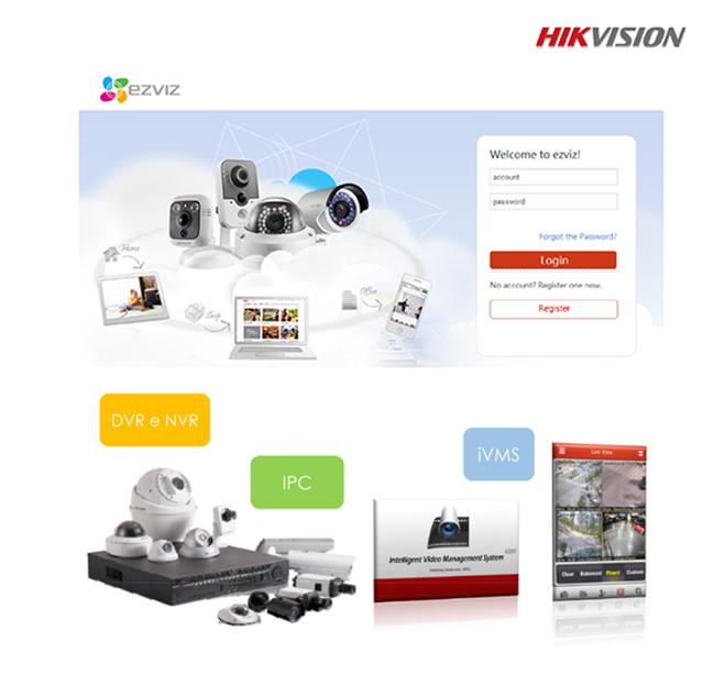 Ezviz Cloud Hikvision-Piattaforma