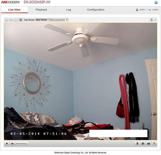 Schermata_accesso_telecamera-_IR_Cube