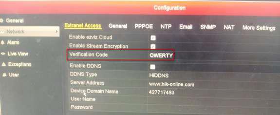 Cloud-Ezviz-Codice-di-verifica-DVR-NVR