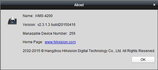 Versione iVMS-4200