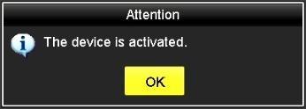 conferma attivazione