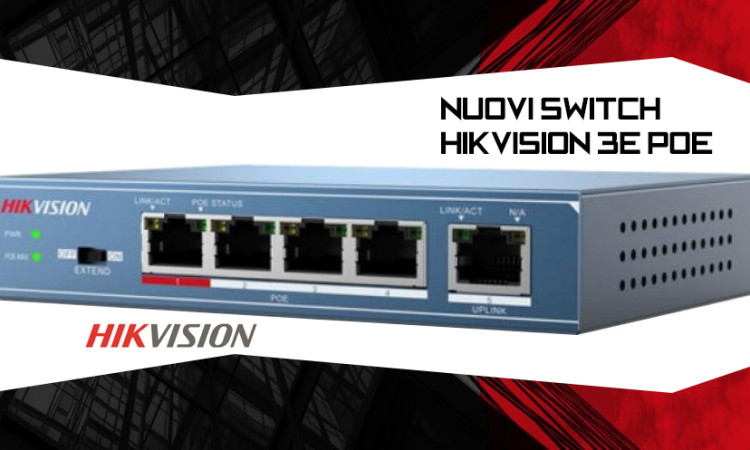 Switch Hikvision 3E PoE